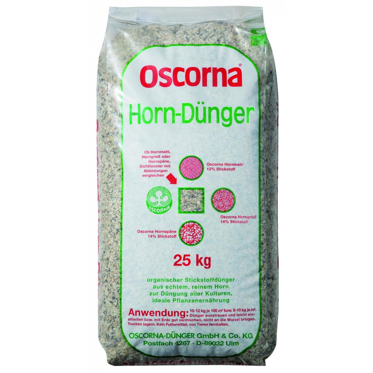 oscorna hornsp ne 25 kg d nger haus garten. Black Bedroom Furniture Sets. Home Design Ideas