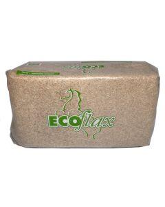 ECOflax Leinenstroh Einstreu 20kg