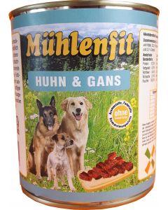 Mühlenfit f. Hunde Huhn & Gans 800g