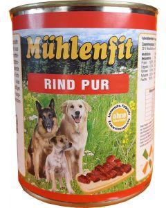 Mühlenfit f. Hunde Rind 800g