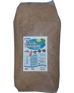 High-Premium-Teichsticks Natur 5kg