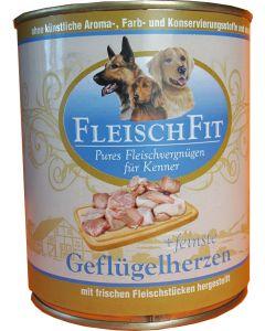 Fleischfit+fein. Geflügelherzen 800g (H)