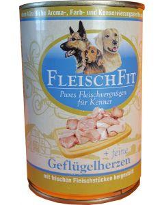 Fleischfit+fein. Geflügelherzen 400g (H)