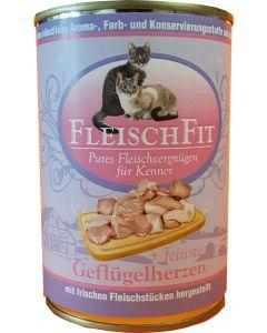 Fleischfit+fein. Geflügelherzen 400g (K)