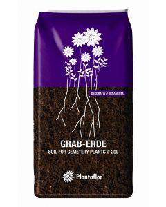 Plantaflor Graberde dunkel 20l
