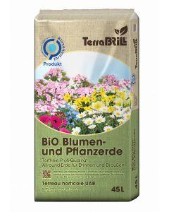 Terra Brill Bio Blumenerde 45l Torffrei