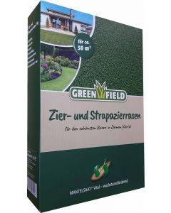 Greenfield Zier- Strapazierrasen 1kg