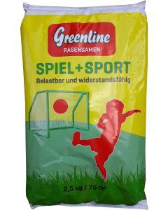Rasensamen Greenline Spiel + Sport 2,5kg