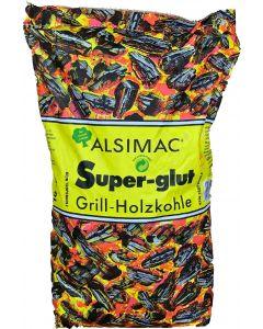 Alsimac Super-Glut Grillholzkohle 10kg
