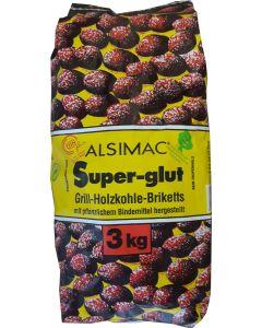 Alsimac Super-GlutGrillbriketts 3kg