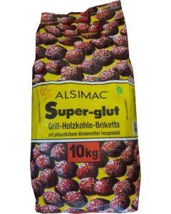 Alsimac Super-Glut Grillbriketts 10kg