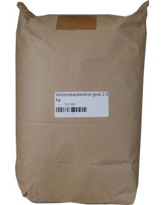 Weizenbackschrot grob 2,5 kg