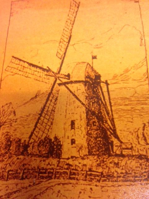 Original der Brechtener Mühle